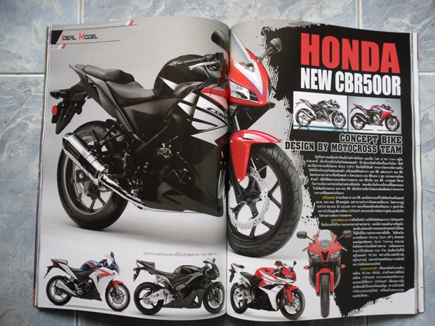 Honda CBR500R specifications and launch details