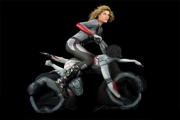 human motorcycle trina merry