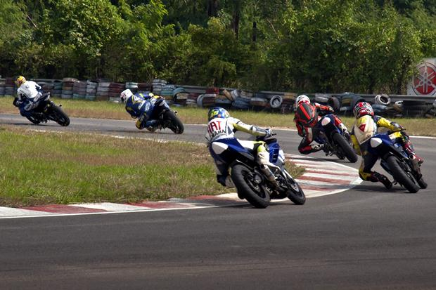 Yamaha R15 One Make Race Championship 2012 results