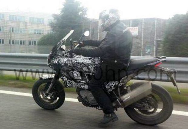 Husqvarna Nuda touring bike spy shot