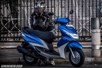 new Yamaha scooter