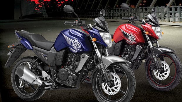 yamaha fzs new colours
