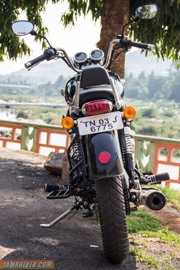 Royal Enfield Thunderbird 500 tail lamp