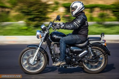 Royal Enfield Thunderbird 500 with Nijish