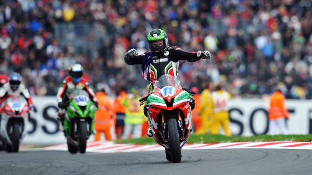 Sam Lowes is the 2013 World Supersport Champion