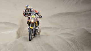 Dakar 2014 KTM Stage 10 update