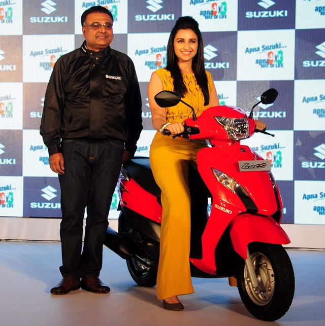 new suzuki lets scooter
