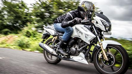 tvs apache rtr 180 review road test