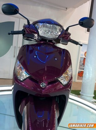 New Yamaha Alpha scooter launched at Auto Expo 2014