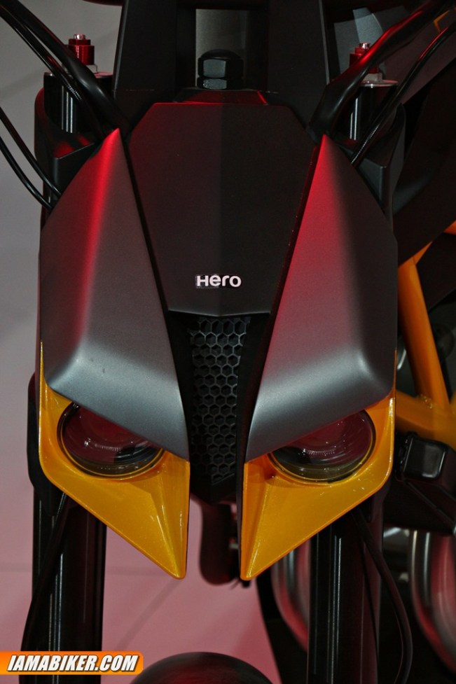 Hero Hastur headlights