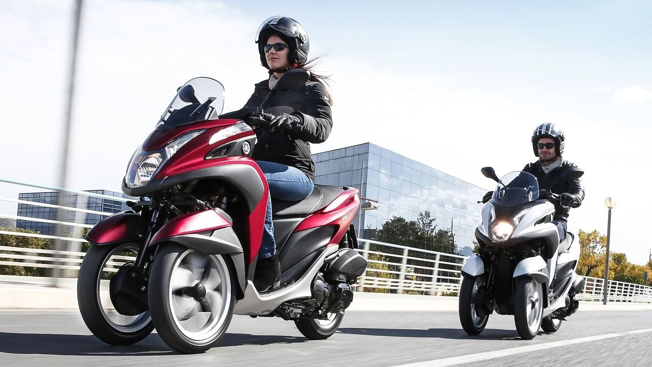 2015 Yamaha Tricity scooter unveiled