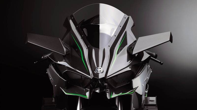 2015 Kawasaki Ninja H2R featured