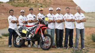 honda dakar rally team 2015