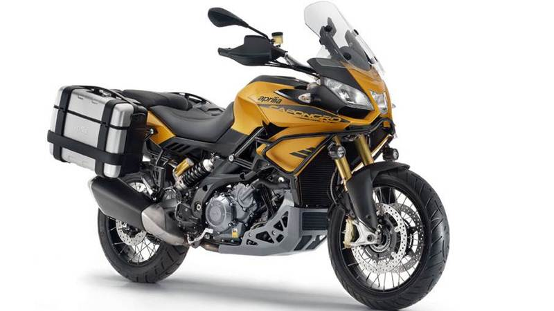 new aprilia caponord rally featured