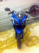 pulsar 200 ss blue colour front view