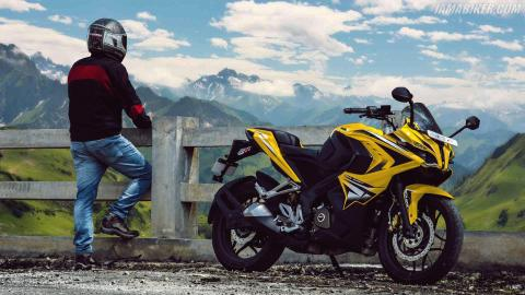 Pulsar RS 200 HD wallpaper