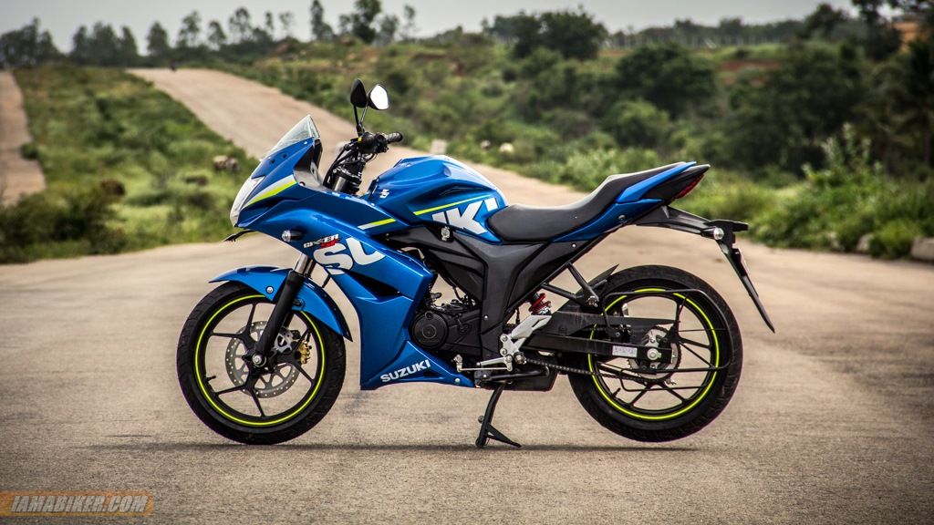 Suzuki Gixxer SF review looks feel and build quality