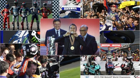 Jorge Lorenzo 2015 MotoGP world champion