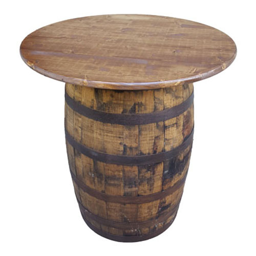Tables : Table: Whiskey Barrel36