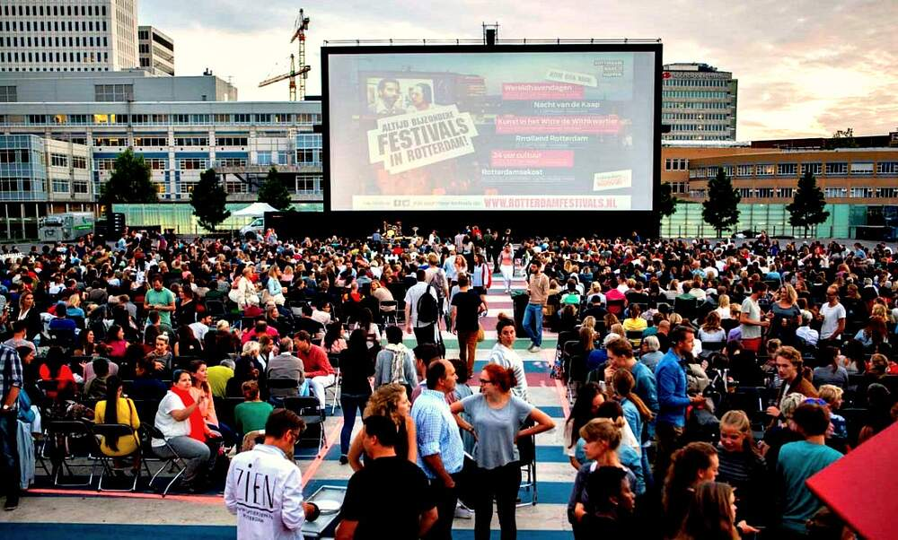 Pleinbioscoop Rotterdam, outdoor film festival