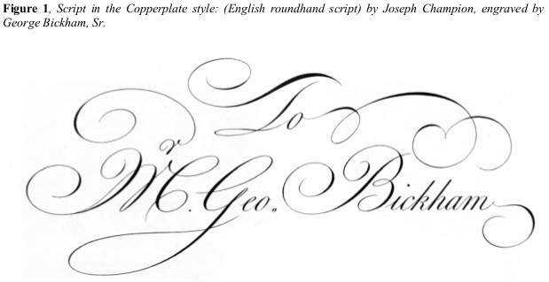 Demystifying the Copperplate/Spencerian Script Enigma IAMPETH site