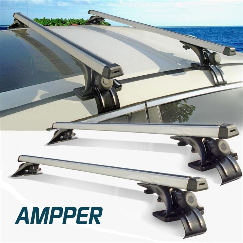 Amppr Aluminum Car Luggage Racks Roof Rack Cross Bars 48