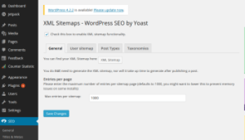 how to create dynamic xml sitemap and submit to google web master