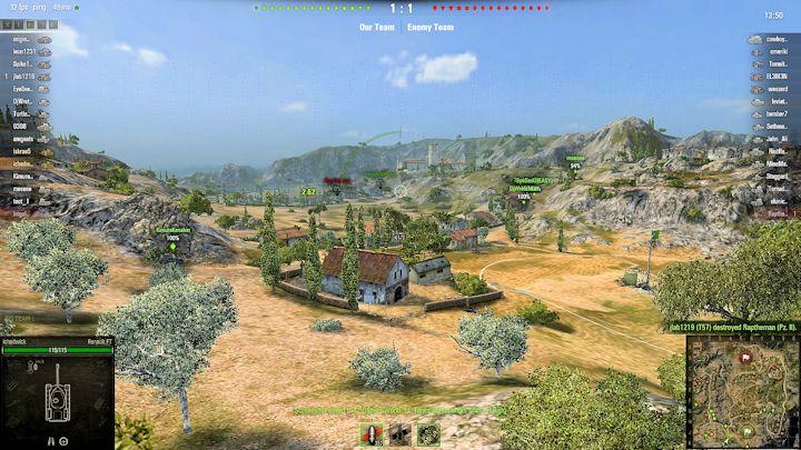 Battlefield view