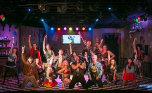 The cast of Rock of Ages at The Modern CdA. Photo: Dan Baumer.