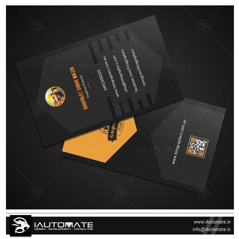 Fittness Club Business Card Design iAutomate - club card design
