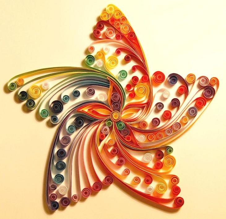 Quilling_star_by_iron_maiden_art