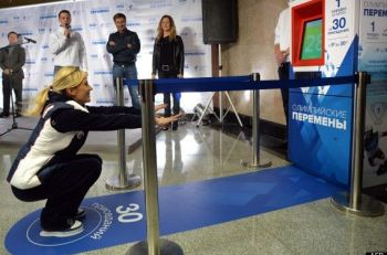 RUSSIA-OLY-2014-RUS-MOSCOW-SUBWAY-HEALTH
