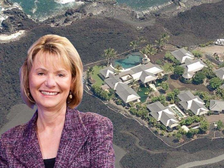 former-yahoo-ceo-carol-bartz-vacations-at-a-5-bedroom-home-on-hawaiis-big-island-the-11700-square-foot-lot-is-surrounded-by-black-lava-and-a-luxury-golf-course