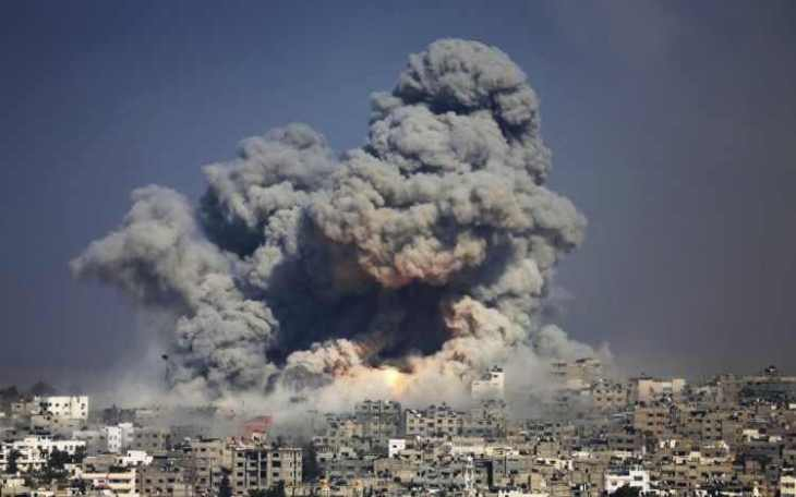 on-july-8-israel-initiated-operation-protective-edge-in-the-gaza-strip-over-the-course-of-seven-weeks-israel-and-hamas-traded-bombardment-and-rocket-fire-ground-fighting-killed-2200-people-most-of-whom-were-75