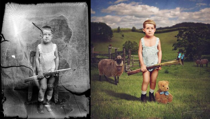 jane-long-colorizes-old-photos-and-adds-a-surreal-twist-to-them-3