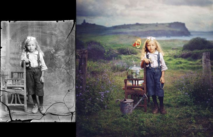 jane-long-colorizes-old-photos-and-adds-a-surreal-twist-to-them-9