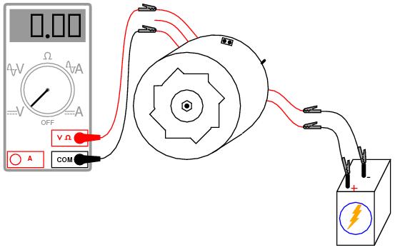 wiring voltmeter motorcycle