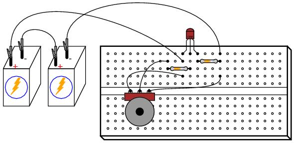 breadboard project project five tonydphysic