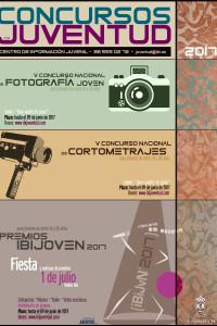 Cartel Concursos Juventud Ibi Alicante 2017