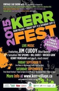 2015 Kerr Fest Oakville - Kerr village street festival and car show