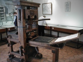 The Original Gutenberg Press