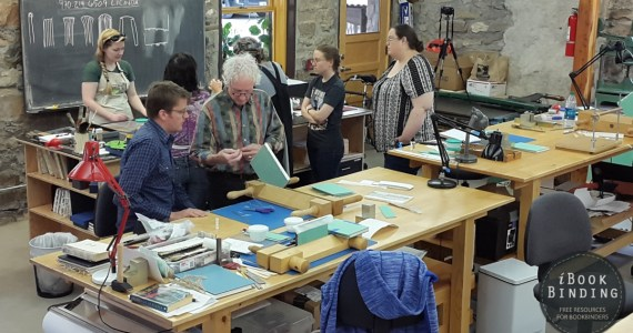 2015.08.24 - Bookbinding Workshops and Classes in the USA (2015)