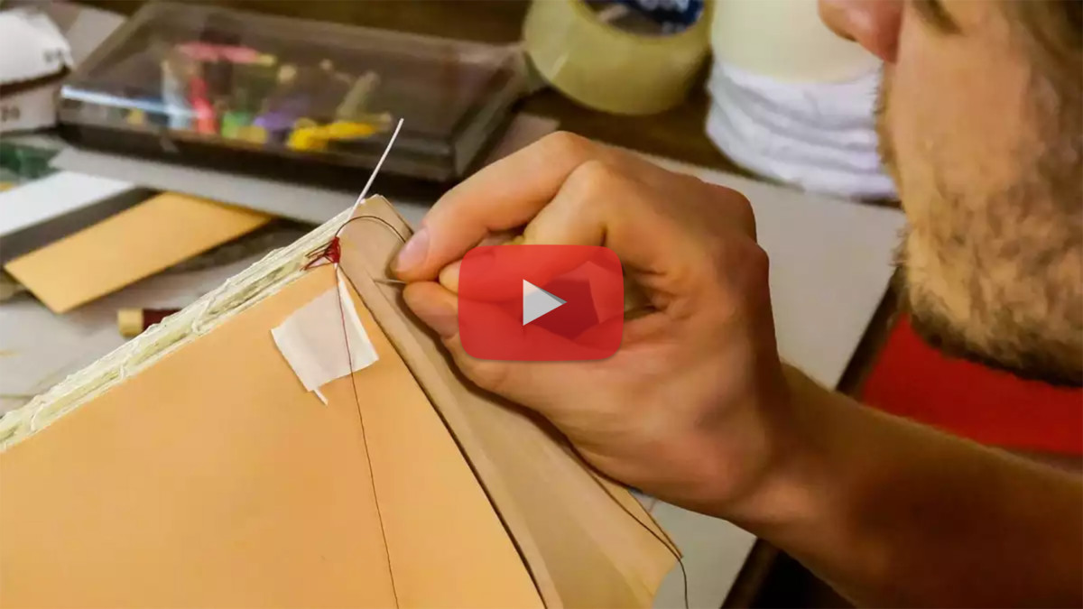 Sewing an Endband on One Core — Video Tutorial
