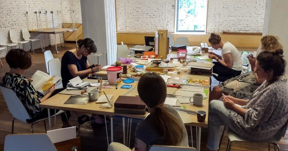 2016.09.19 - Ideas for the New Season of Bookbinding Classes
