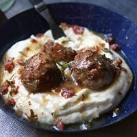 Turkey Saltimbocca Meatballs - Low Carb and Gluten Free