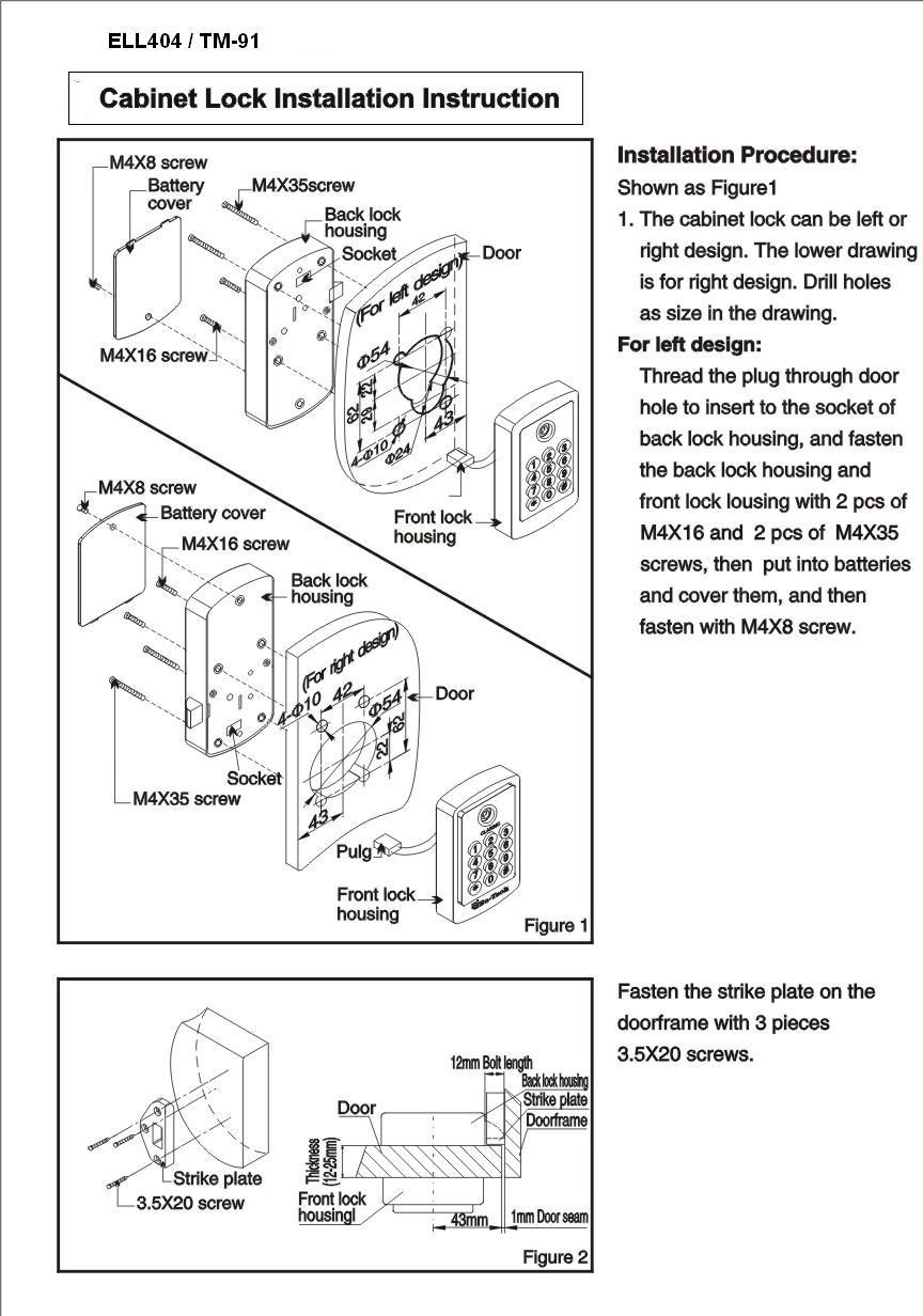 diagram of cabinet