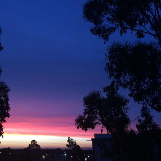 Spring Sunset 2014