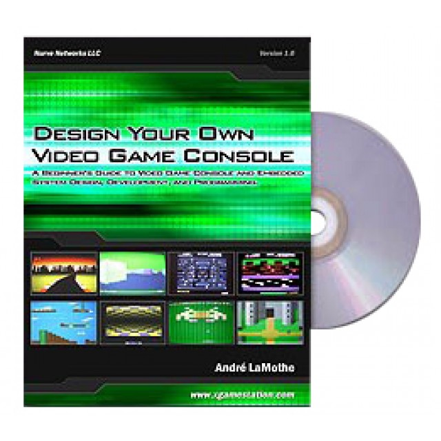 Your Own Video Game Console eBook - design your own home game