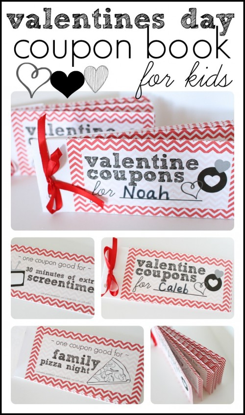 Valentine Coupons For Kids - I Can Teach My Child!