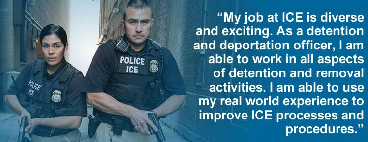 Detention and Deportation Officer ICE